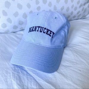 Nantucket Hydrangea Blue Baseball Cap